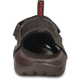 Crocs Swiftwater - Sandales Homme - olive